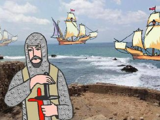 Kreuzfahrer vor Akkon