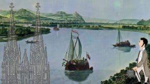 Siebengebirge, Rhein und Kölner Dom