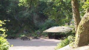Nasseplatz, stillgelegter Steinbruch im Siebengebirge