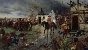 Wallensteins Truppen im Krieg