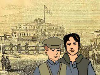 Bergmann Brüder, Castle Garden, New York