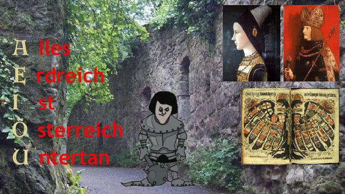 Siebengebirge Geschichte, Mittelalter, die Zeit der Habsburger
