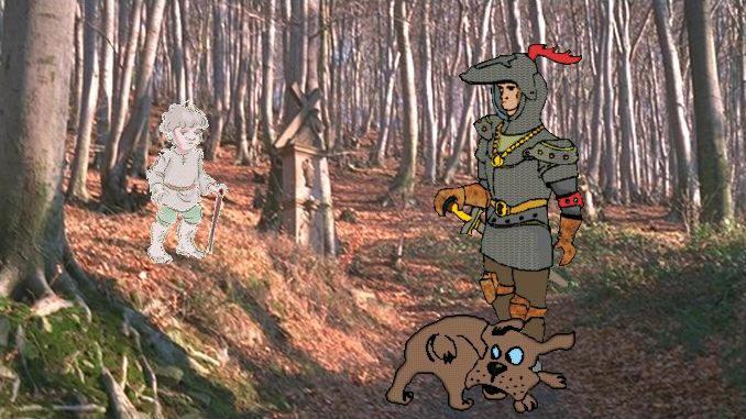 Siebengebirge Märchen, der Knabe vom Petersberg