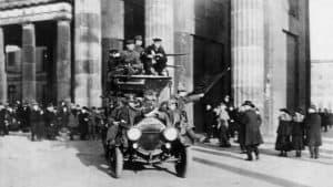 Revolution und Rheinlandbesetzung, Novemberrevolution in Berlin