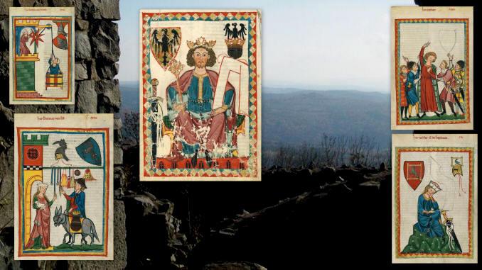 Aus der Manessischen Liederhandschrift