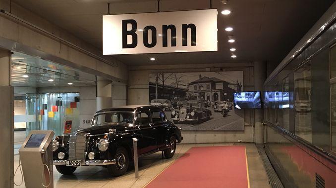 Bundesrepublik, Adenauers Dienstwagen, Haus der Geschichte, Bonn