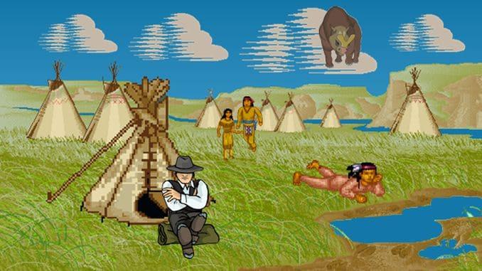Besuch bei den Sioux-Indianern