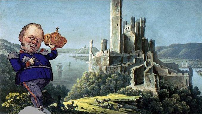 Friedrich Wilhelm IV. von Preußen, Burg Stolzenfels