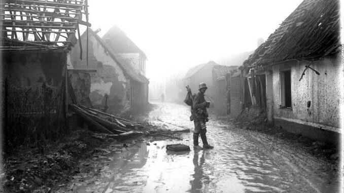 Erster Weltkrieg, Etricourt 1918