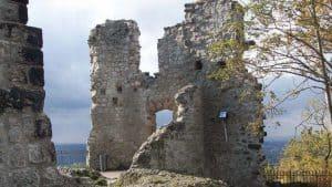 "Burg Drachenfels, ""Kölner Fenster"""