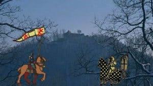 Spätmittelalter Siebengebirge, Zeit der Luxemburger, Dauerstreit zwischen Köln und Berg