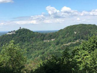 Drachenfels und Wolkenburg