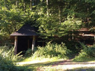 Schutzhütte am Froschberg