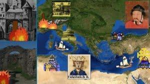Die Zeit der Staufer, der ferne Kaiser, Hochmittelalter