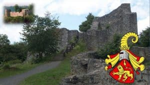 Burg Löwenburg, Sayner Wappen, Burg Blankenberg