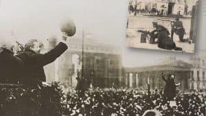 Ebert heißt die Truppen willkommen, 1919