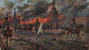 Nap,oleon in Moskau, 1812
